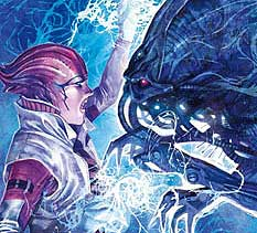 Mass Effect Invasion in fumetteria