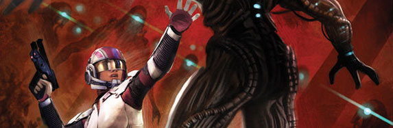 Ashley Williams in Mass Effect Foundation #3